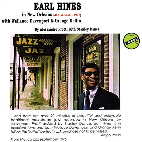 EARL HINES - IN NEWORLEANS