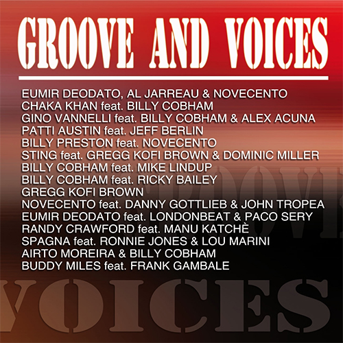 GROOVE AND VOICE - COMPILATION