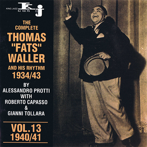 THOMAS FATS WALLER - VOL.13