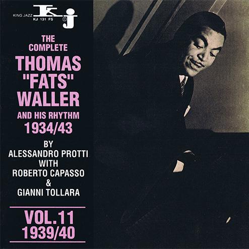 THOMAS FATS WALLER - VOL.11